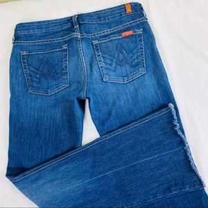 "7 For All Mankind ""A"" Pocket Jeans Size 29"